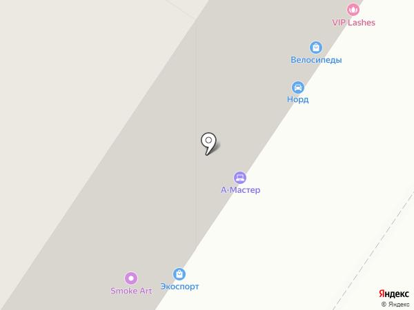 Окна Тюмени на карте Тюмени