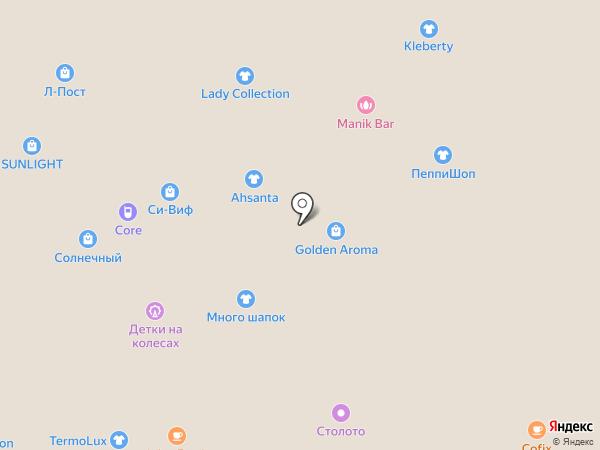Yota на карте Тюмени