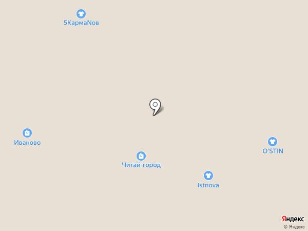 Assorti на карте Тюмени