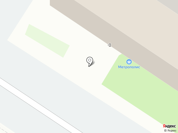 Метрополис на карте Тюмени
