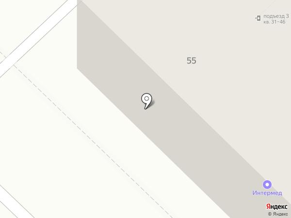 Настёна на карте Тюмени