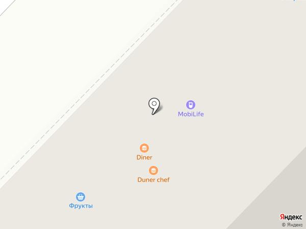 Шаурма №1 на карте Тюмени