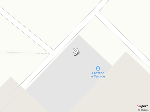 Светлое и Темное на карте Тюмени