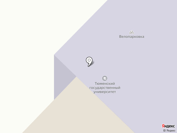 Тюменский государственный университет на карте Тюмени