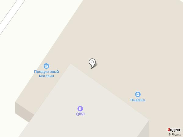 Деловар на карте Тюмени