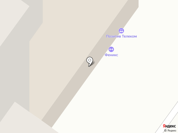 Позитив телеком на карте Тюмени