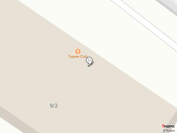 Смольный на карте Тюмени