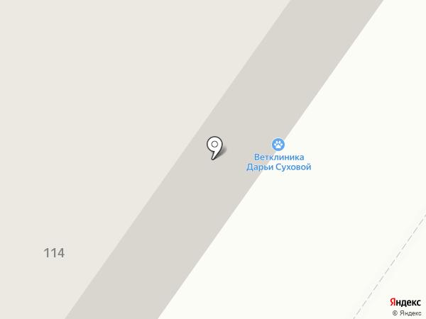 Летэк-Сибирь на карте Тюмени