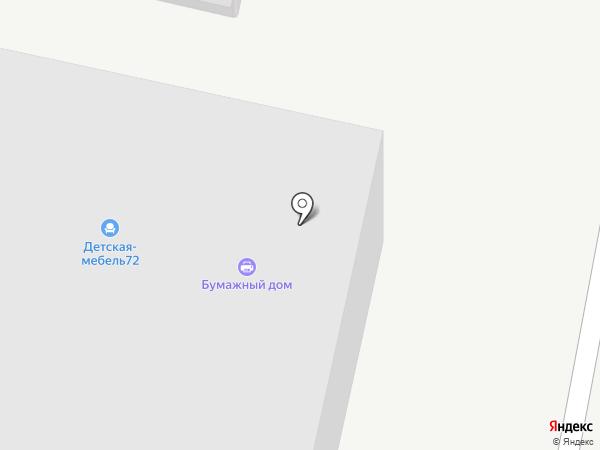 БонусМебель на карте Тюмени