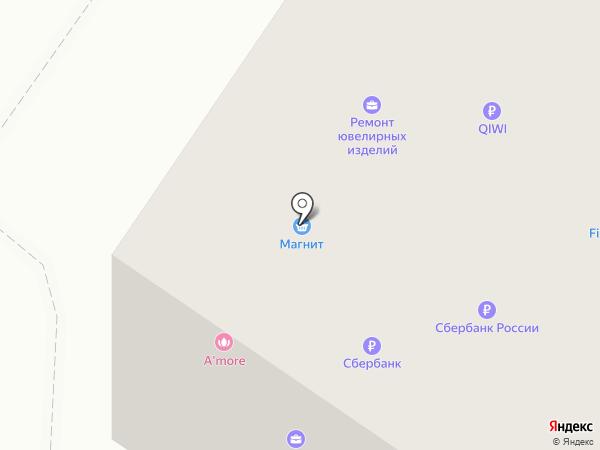 A`MORE на карте Тюмени