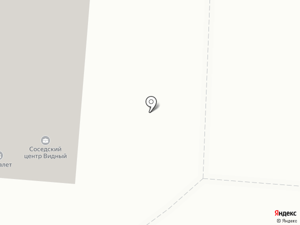 Видный на карте Тюмени