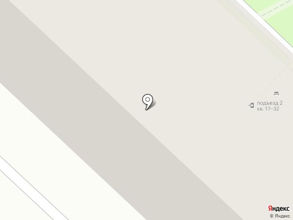 Камертон Авто на карте Тюмени