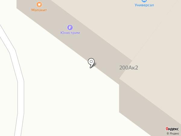 555 на карте Тюмени