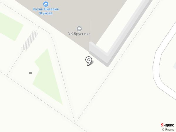 Кухни72 на карте Тюмени