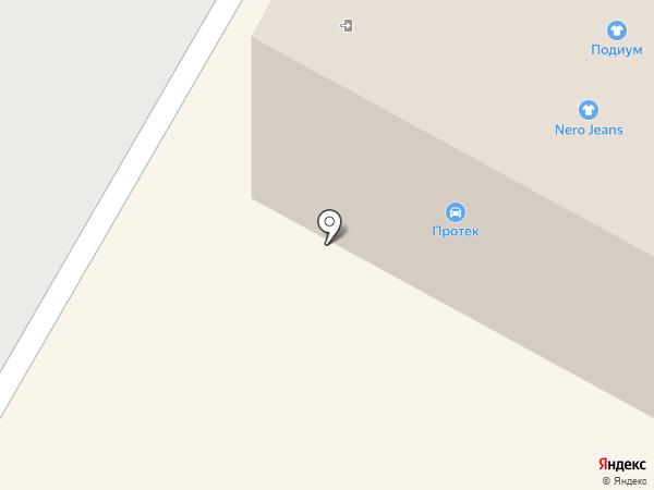 Авто пробег на карте Тюмени