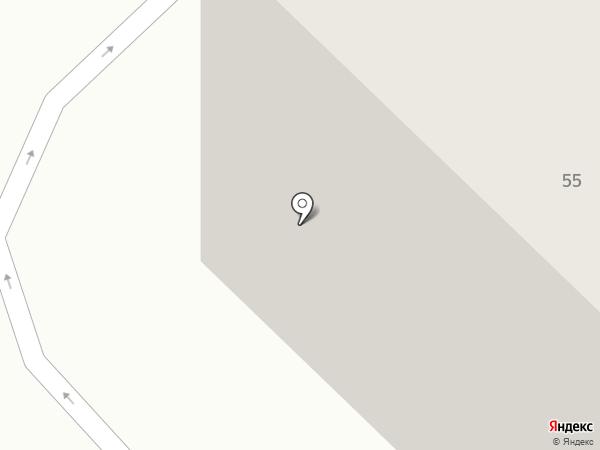 Трикс на карте Тюмени