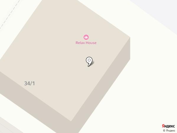 Blackberry Relax House на карте Тюмени