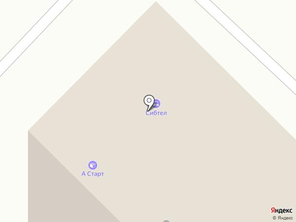 Зодчий на карте Тюмени
