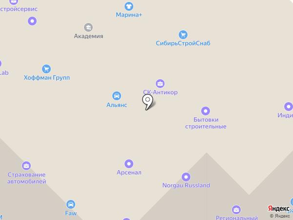 Уралпромметалл на карте Тюмени