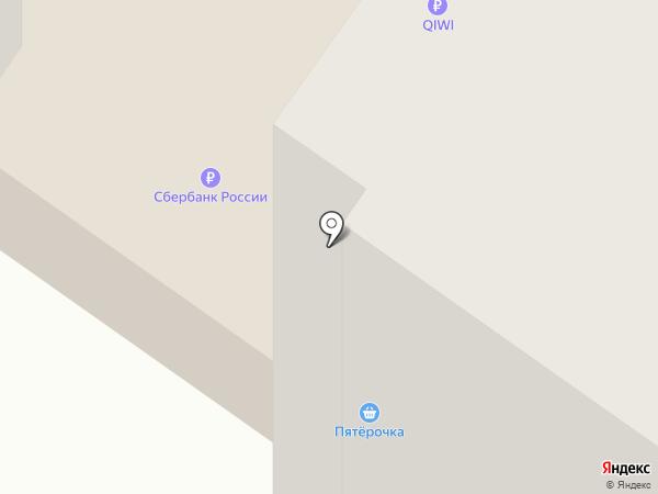 Пятерочка на карте Тюмени