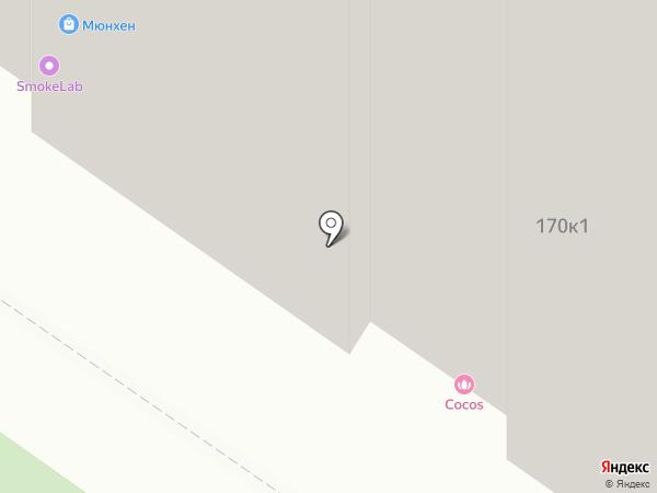 Мюнхен на карте Тюмени