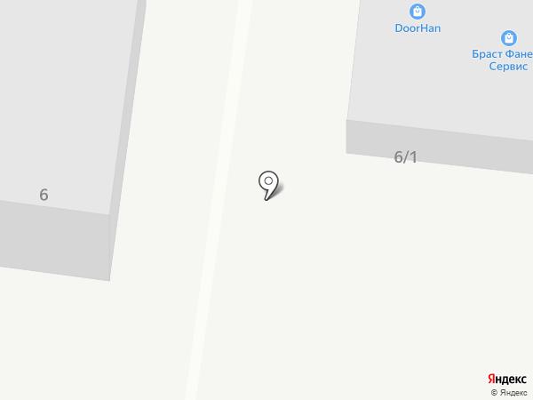 ИНТЕГРО на карте Тюмени