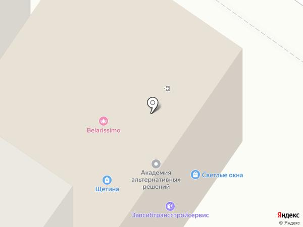 Гетфит на карте Тюмени