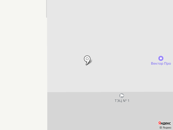 Энергетик-1 на карте Тюмени