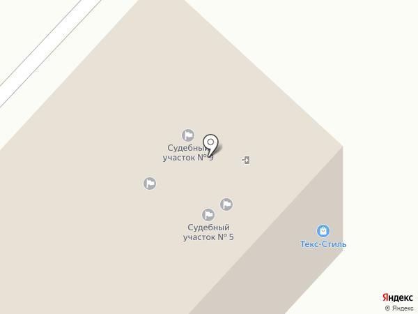 Мировые судьи Ленинского административного округа г. Тюмени на карте Тюмени