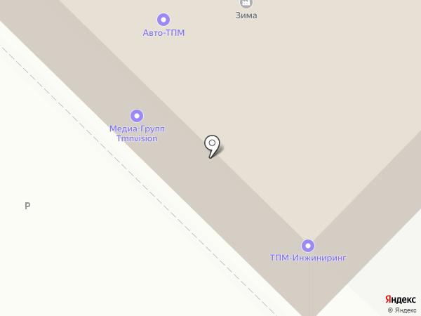 GreenFox на карте Тюмени