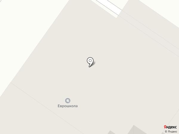 Еврошкола на карте Тюмени