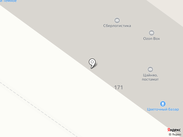 Сокол на карте Тюмени