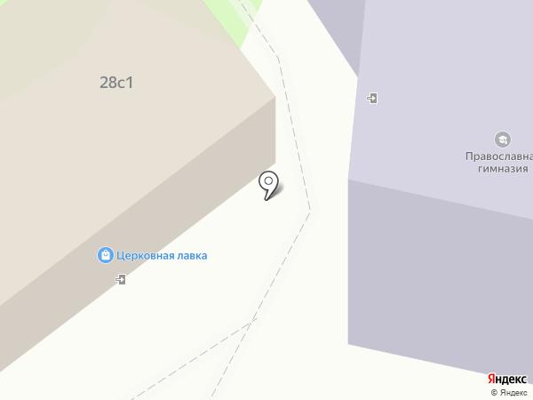Средняя общеобразовательная школа №13 на карте Тюмени