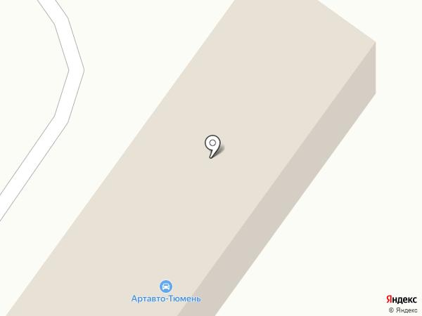 АВСК на карте Тюмени