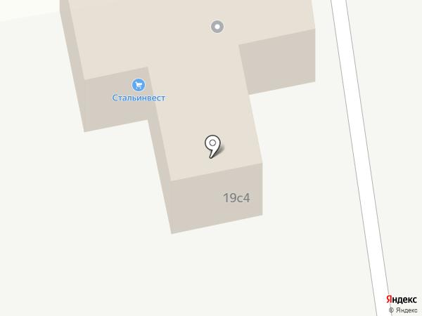 СК-Обь на карте Тюмени
