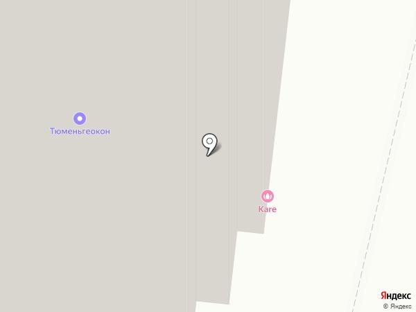 КаRе на карте Тюмени
