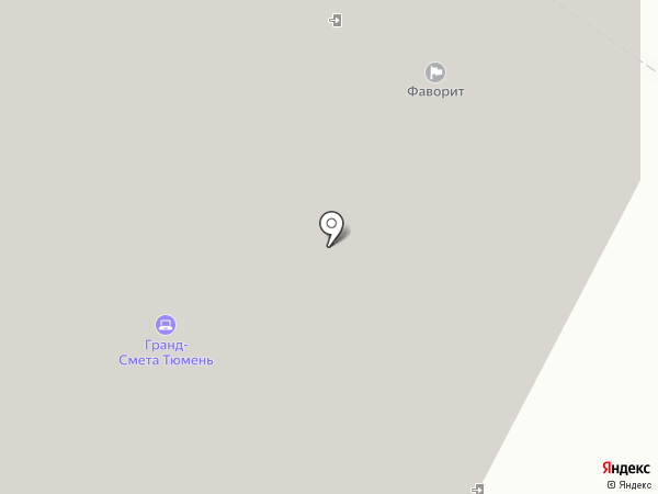 Ладья на карте Тюмени