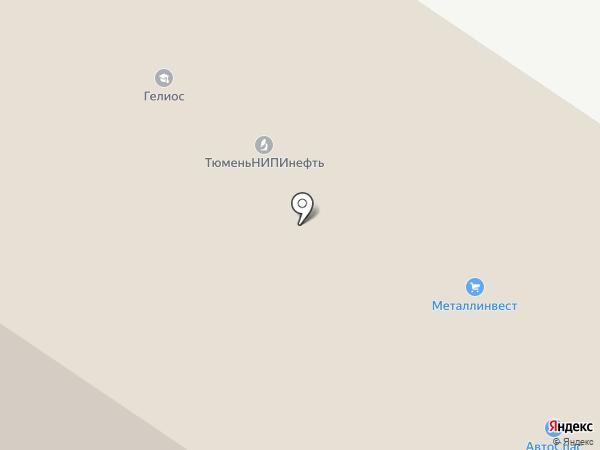 Металлинвест-Тюмень на карте Тюмени