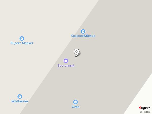 Восточный на карте Тюмени