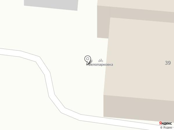 Родное на карте Тюмени