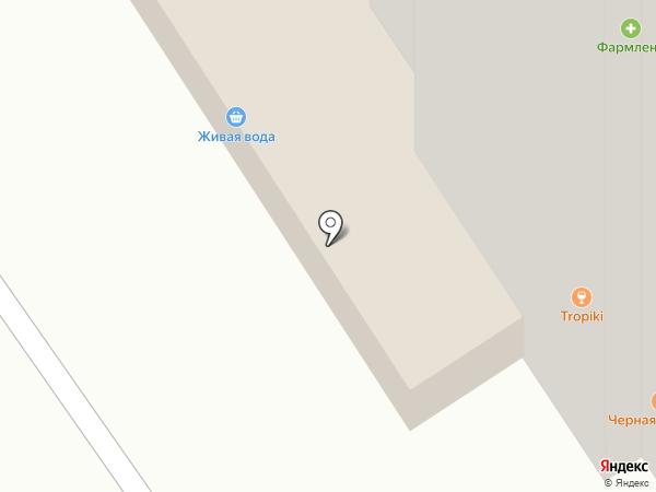 Магазин разливных напитков на карте Тюмени