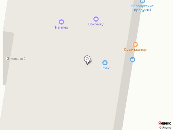 Ивашка на карте Тюмени