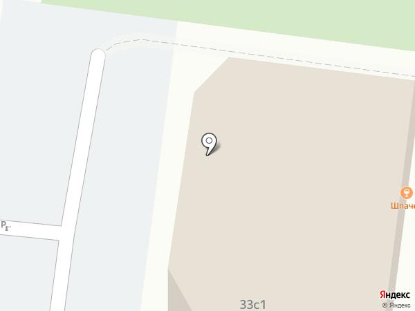 Восьмерка на карте Тюмени