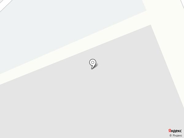 Автостоянка на карте Тюмени