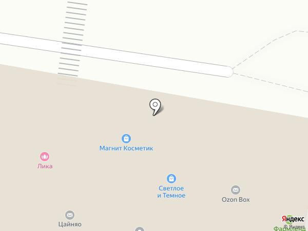 Прометей на карте Тюмени
