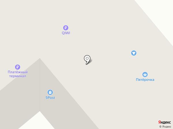 Фаина на карте Боровского