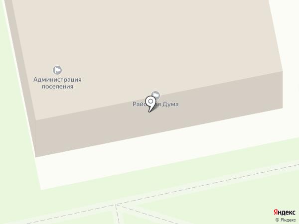Администрация р.п. Винзили на карте Винзилей