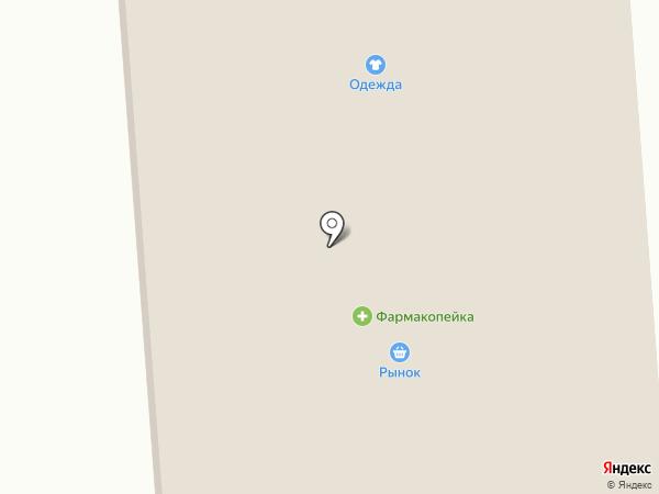 Айсберг на карте Богандинского