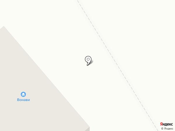Вонави на карте Богандинского
