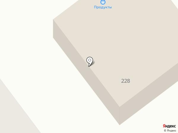 Бафтинг на карте Ялуторовска